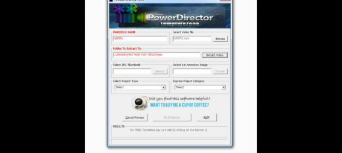 Convert video to particle pdtemplatezone cyberlink for Powerdirector slideshow templates download